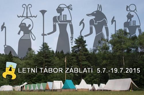 Letní tábor Záblatí 2015